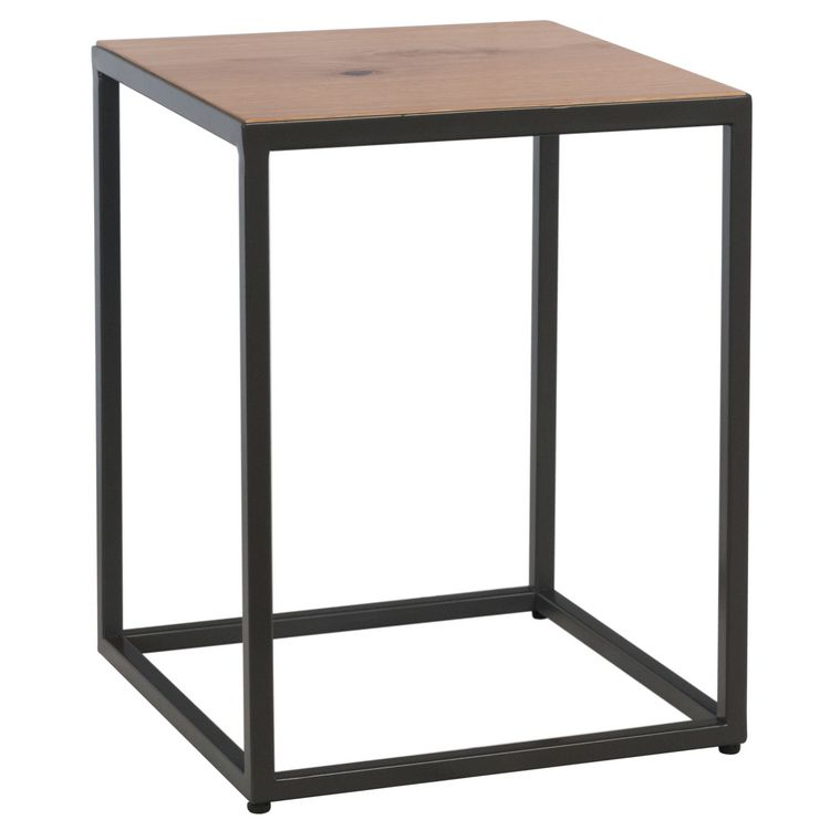 Elliptus Oak Furniture Side Table