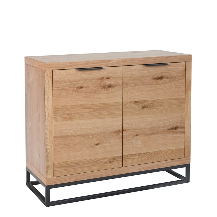 Elliptus Oak Furniture 2 Door Sideboard