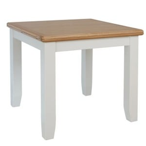 Galaxy White Painted Furniture Flip Top Dining Table