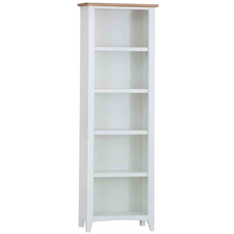 Galaxy White Painted Furniture Large Bookcase
