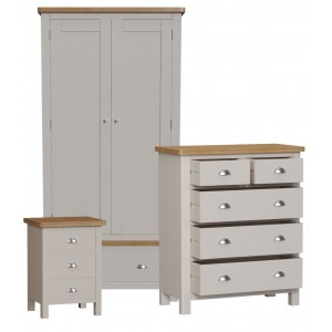 Wittenham Double Wardrobe Bedroom Set