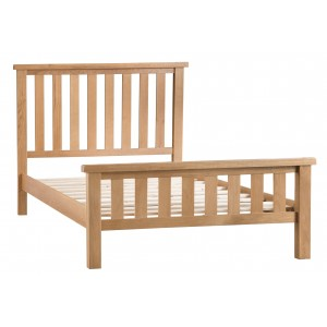 Colchester Rustic Oak Furniture 4ft 6 Standard Double Bed