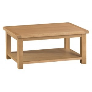Colchester Rustic Oak Furniture Coffee Table