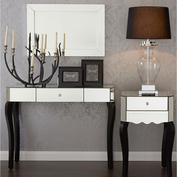 Orchid Mirrored Glass Furniture