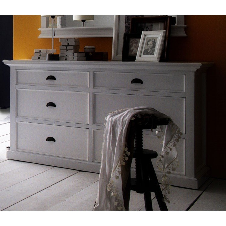 Halifax Painted Furniture 6 Drawer Wide Chest