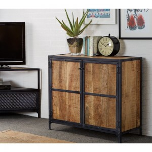 Ascot Industrial Furniture Small Sideboard