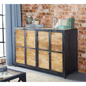 Ascot Industrial Furniture Large Sideboard