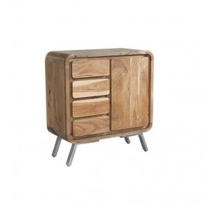 Aspen Reclaimed Iron & Wooden Furniture Medium Sideboard