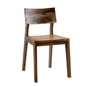 Aspen Reclaimed Iron & Wooden Furniture Chair (Pair)