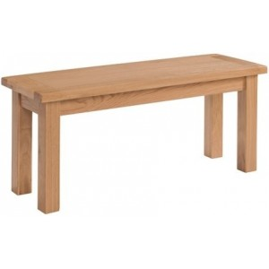 Avon Oak Furniture 104cm Medium Bench
