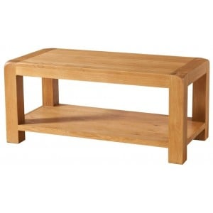 Avon Oak Furniture Coffee Table with Shelf