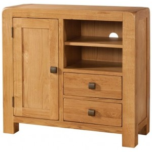 Avon Oak Furniture Sideboard Media Unit
