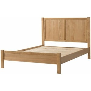 Burford Oak Furniture Oak Double 4.6ft Bed