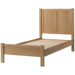 Burford Oak Furniture Oak Single 3ft Bed