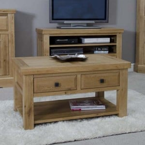 Deluxe Oak Furniture 3x2 Coffee Table
