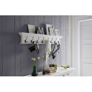 Halifax Painted Furniture Eight Hook Coat Rack
