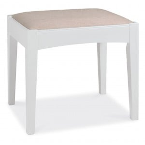 Hampstead White Painted Furniture Dressing Table Stool