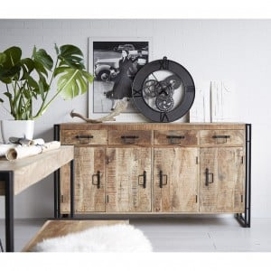 Cosmo Industrial Furniture Extra Large Sideboard