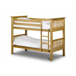 Julian Bowen Furniture Barcelona Pine Bunk Bed