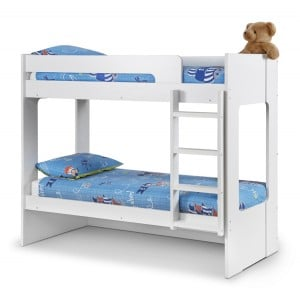 Julian Bowen Furniture Ellie Bunk Bed - All White