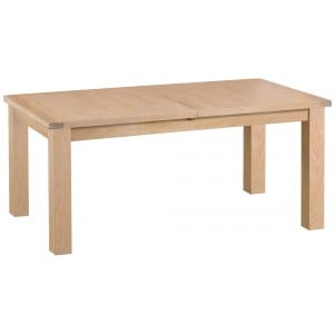 Langham Lime Washed Oak 1.7m Butterfly Extending Table