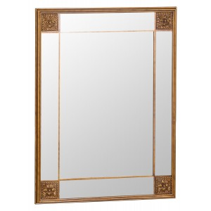 Florence Leaner Gold Frame Mirror 115 x 145
