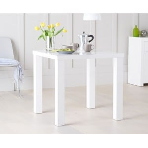 Ava High Gloss Furniture 80cm Dining Table