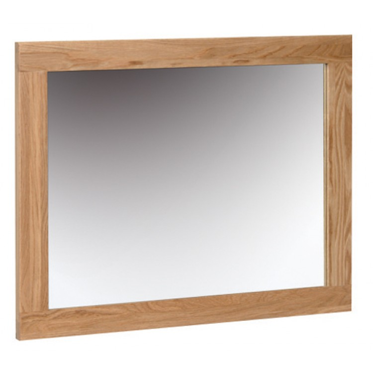 Devonshire New Oak Furniture Small Wall Mirror