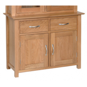 Devonshire New Oak Furniture 3ft Dresser Base