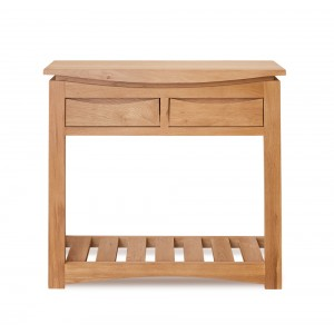 Roscoe Contemporary Oak Furniture Console Table