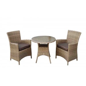 Signature Weave Darcey 2 Seater Bistro Dining Set