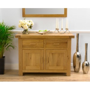 Avignon Solid Oak Furniture Medium Sideboard